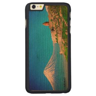 場合とアルメニア人のアララトの美しいiPhone 6/6s CarvedチェリーiPhone 6 Plusスリムケース