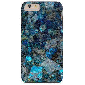 場合とアートな曹灰長石の抽象芸術のiPhone 6/6s Tough iPhone 6 Plus ケース