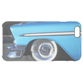 場合とクラシックで青い車のiphone 6/6s クリア iPhone 6 plusケース