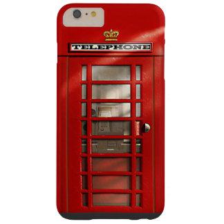 場合とクラシックなイギリスの赤い電話ボックス6/6s barely there iPhone 6 plus ケース