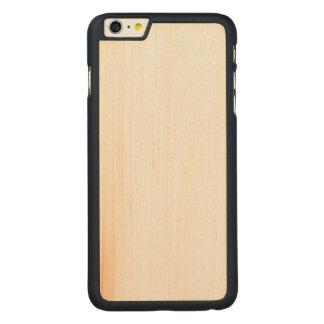 場合と木製の細いiPhone 6/6s CarvedメープルiPhone 6 Plus スリムケース