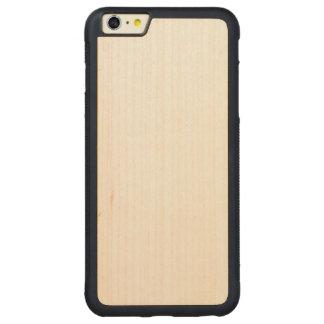 場合と木製の豊富なiPhone 6/6s CarvedメープルiPhone 6 Plusバンパーケース