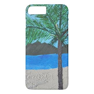 場合と熱帯島やっとそこにIPhone iPhone 8 Plus/7 Plusケース