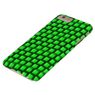 場合と緑の正方形のやっとそこにiPhone 6/6s Barely There iPhone 6 Plus ケース