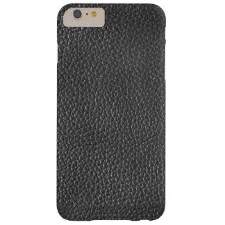 場合と黒い革質メンズIphone 6/6s Barely There iPhone 6 Plus ケース