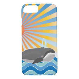 場合のクジラ iPhone 8/7ケース