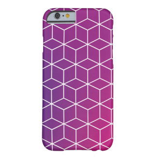 場合の勾配の立方体パターン BARELY THERE iPhone 6 ケース