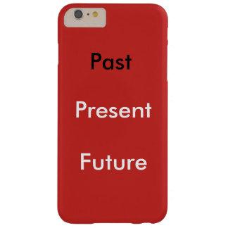 場合の赤の過去現在の未来とIphone 6/6s Barely There iPhone 6 Plus ケース