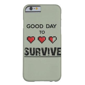場合を生き延びるよい日 BARELY THERE iPhone 6 ケース