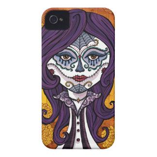 場合オレンジDia de los Muertos iphone4 Case-Mate iPhone 4 ケース