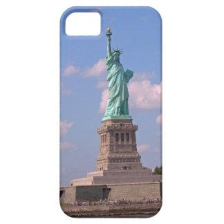 場合マンハッタンニューヨークシティ自由の女神 iPhone SE/5/5s ケース