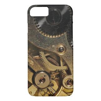 場合: 心がある黄銅。 腕時計のメカニズム iPhone 8/7ケース