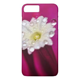 場合: 雨およびブーゲンビリアの花 iPhone 8 PLUS/7 PLUSケース