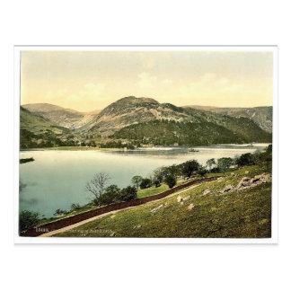 場所からのUllswaterは、湖地区、イギリス下りました ポストカード