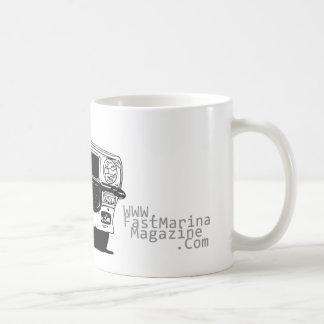 場所の名前のFMMDesign V8の積み込み コーヒーマグカップ