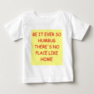 場所は起点に好みません ベビーTシャツ