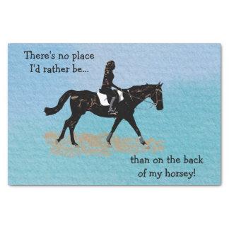 場所私はむしろ-乗馬の馬ではないです 薄葉紙