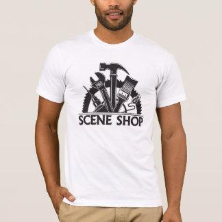 場面店のワイシャツ Tシャツ