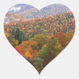 場面緑豊かな景色のアパラチア地方住民カロライナ ハートシール