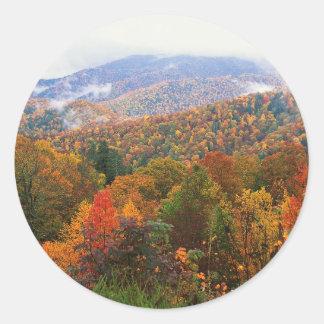 場面緑豊かな景色のアパラチア地方住民カロライナ ラウンドシール