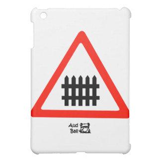塀の交通標識 iPad MINIカバー