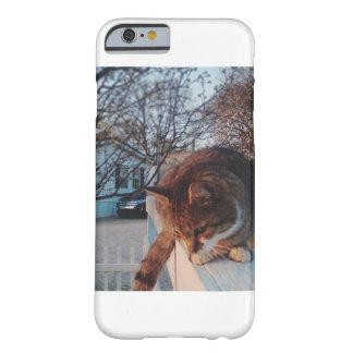 塀の電話箱の子猫 BARELY THERE iPhone 6 ケース
