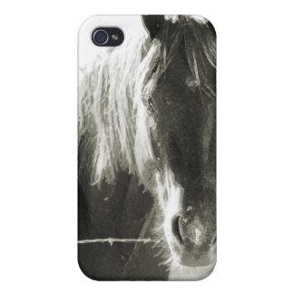 塀の馬 iPhone 4/4S カバー