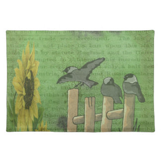 塀の鳥 ランチョンマット