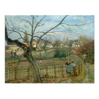 塀1872年(キャンバスの油) ポストカード