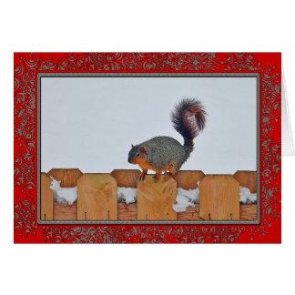 塀6269のクリスマスカードで蓄えて下さい カード