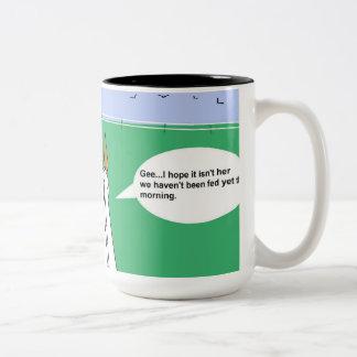 塀/旅行シリーズ#1コーヒー・マグに ツートーンマグカップ