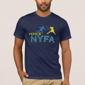 塀NYFAのメンズによって合われるアメリカの服装のTシャツ Tシャツ