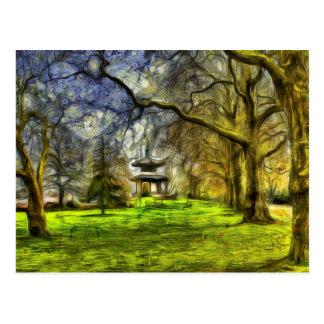 塔の印象派の芸術 ポストカード