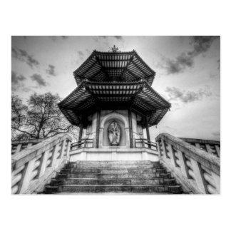 塔のBattersea公園ロンドン ポストカード