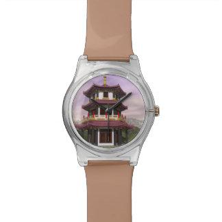塔- 3Dは描写します 腕時計