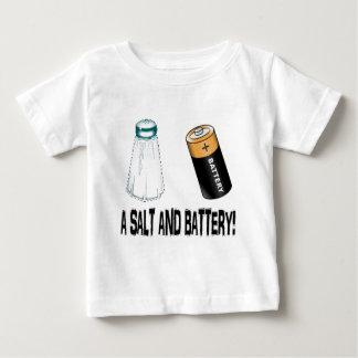 塩および電池! ベビーTシャツ
