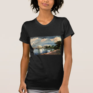 塩のやかん、Winslowホーマー著バミューダ島 Tシャツ