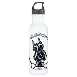塩のコショウのシュナウツァーIAAM ウォーターボトル