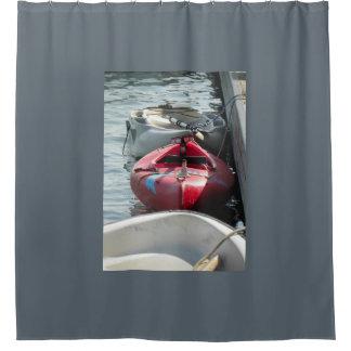塩の操業シャワー・カーテンでつながれる シャワーカーテン