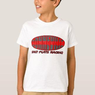 塩のBoneville Wendover平地競走の速度週 Tシャツ