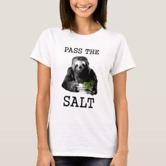 塩を渡して下さい Tシャツ