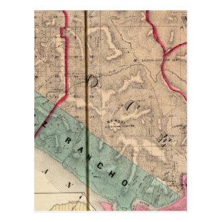 塩ポイント、海、Mendocinoのレッドウッド、Bodega ポストカード