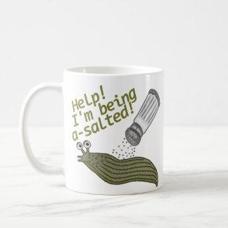 塩味のスラグしゃれ コーヒーマグカップ