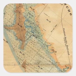 塩性湿地および潮土地の地図 スクエアシール