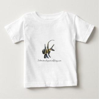 塩水のアクアリウムのブログ ベビーTシャツ