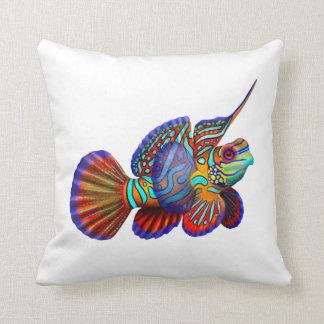 塩水のアクアリウムのマンダリンの魚の枕 クッション