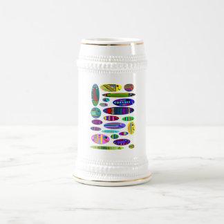 塩水のアクアリウムの魚のコーヒー・マグ ビールジョッキ