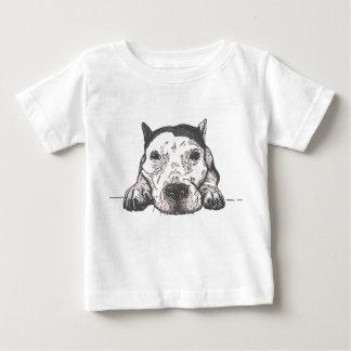 塩水のベビーのTシャツ ベビーTシャツ