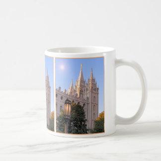 塩湖のモルモン寺院 コーヒーマグカップ