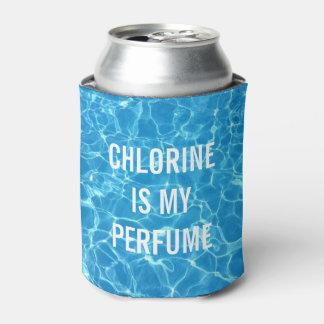 塩素は印刷私の香水のプールです 缶クーラー